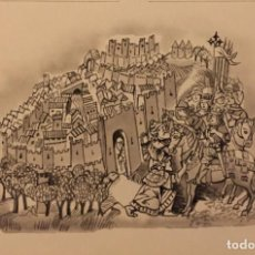 Cómics: LA CONQUISTA DE GRANADA, MONNERAT (SUIZA 1917- ESP 2005). Lote 223227310