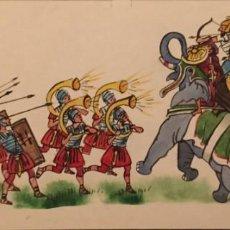 Cómics: ANÍBAL VS. ESCIPIÓN, MONNERAT (SUIZA 1917- ESP 2005), DIBUJO ORIGINAL. Lote 223249865