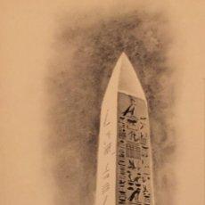Cómics: LOS OBELÍSCOS DE EGIPTO, MONNERAT (SUIZA 1917- ESP 2005), DIBUJO ORIGINAL. Lote 223325160