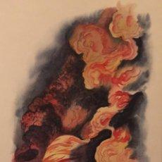 Cómics: NUMANCIA EN LLAMAS. MONNERAT (SUIZA 1917- ESP 2005), DIBUJO ORIGINAL. Lote 223328988