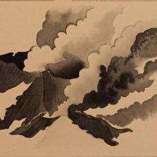 Cómics: LA ERUPCIÓN DEL ETNA. MONNERAT (SUIZA 1917- ESP 2005), DIBUJO ORIGINAL. Lote 223458470