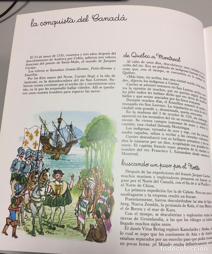 Cómics: La Conquista del Canadá. Monnerat (Suiza 1917- Esp 2005), dibujo original - Foto 3 - 223462616