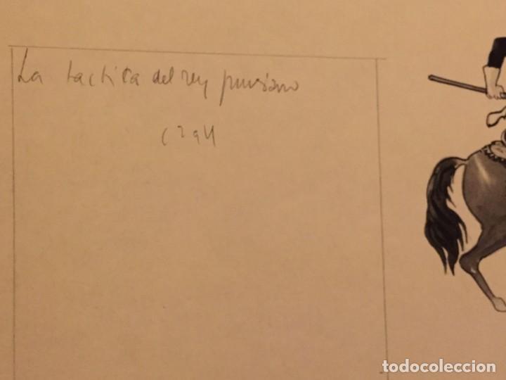 Cómics: Soldado Prusiano. Monnerat (Suiza 1917- Esp 2005), dibujo original - Foto 2 - 223464860