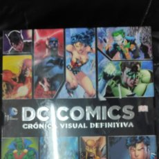 Cómics: DC COMICS CRONICA VISUAL DEFINITIVA. Lote 223490495