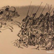 Cómics: LA BATALLA DE CANNAS, DE PIERRE MONNERAT (SUIZA 1917- ESP 2005), FIRMADO Y CATALOGADO. Lote 223971327