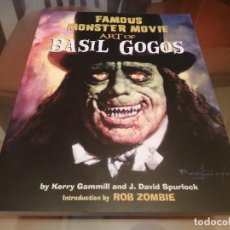 Cómics: BASIL GOGOS FAMOUS MONSTER MOVIE ART FAMOSOS MONSTERS VANGUARD CREEPY. Lote 261296440