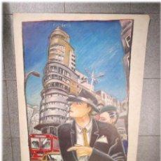 Cómics: CAPITOL JAVIER DE JUAN PORT SAID EDICIONES 1985. MED. 69 X 100 CM. Lote 227238781