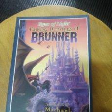 Cómics: EYES OF LIGHT FANTASY DRAWINGS OF BRUNNER (MICHAEL MOORCOK). Lote 228401180