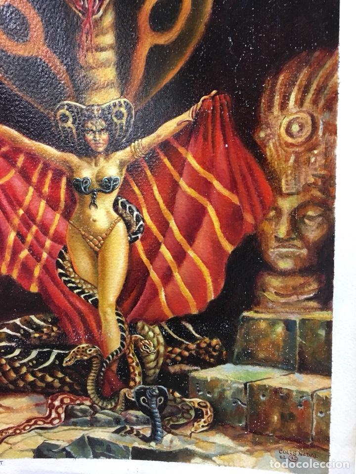 Cómics: Ilustración Original de Colls Nadal 1982, 38x55cm - Foto 2 - 228940935