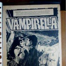 Cómics: COMIC ART ORIGINAL VAMPIRELLA AÑOS 70. Lote 229098155