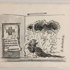 Cómics: JORDI BALASCH SOLANES. DIBUJO ORIGINAL.. Lote 229876325