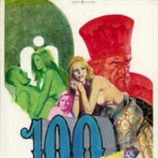 Cómics: PINO D'ANGELICO - PORTADA ORIGINAL DE LUCREZIA #100 - EDIPERIODICI - 1973 ORIGINAL COVER ART. Lote 232021320