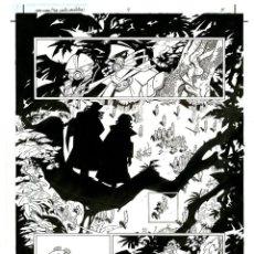Cómics: DIBUJO ORIGINAL DE CARLOS MEGLIA - STAR WARS ( THE YAVIN VASSILIKA P.5 ), DARK HORSE. Lote 232435655
