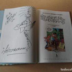 Cómics: MAGOS DEL HUMOR Nº 92 - ¡EL ESTRELLATO! - MORTADELO Y FILEMÓN - DEDICATORIA Y DIBUJO DE F. IBÁÑEZ. Lote 235676045