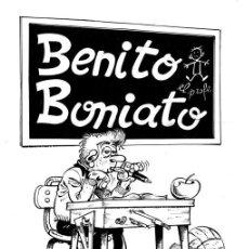 Cómics: DIBUJO DE BENIATO BONIATO -HNOS. FRESNO - BRUGUERA - DIBUJO ORIGINAL DE LA FAMOSA CONTRAPORTADA. Lote 236955740