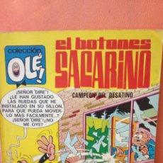 Cómics: EL BOTONES SACARINO CAMPEÓN DEL DESATINO. COLECCIÓN OLÉ!. EDITORIAL BRUGUERA, S.A.. Lote 239363910
