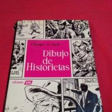 Cómics: LIBRO DIBUJAR ES FÁCIL DIBUJO DE HISTORIETAS (CÓMICS) EDICIONES AFHA AÑO 1967. Lote 239469405