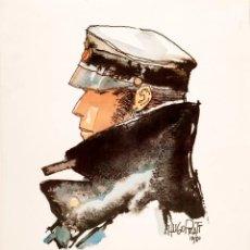 Fumetti: HUGO PRATT - EL CORTO MALTÉS - CARTEL 1980. Lote 241162470