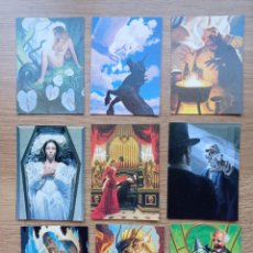 Cómics: TRADING CARD DE HILDEBRANDT. COLECCIÓN 35 CROMOS CARDS. EL MAGO DE OZ, PETER PAN, ROBIN HOOD, POE.... Lote 241464995