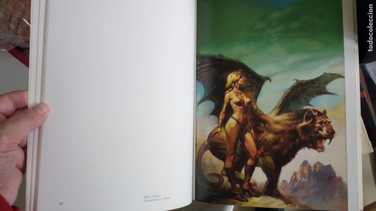 Cómics: Obras maestras del arte fantástico / Franz Frazetta, Boris Vallejo, Vicente Segrelles... Norma. Obr - Foto 2 - 243217540