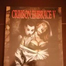 Cómics: A GALLERY GIRLS COLLECTION - CRIMSONN EMBRACE V - FASTNER LARSON. Lote 243906260