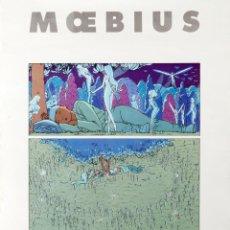 Cómics: MOEBIUS - POSTER - CASTERMAN 1989. Lote 245279125