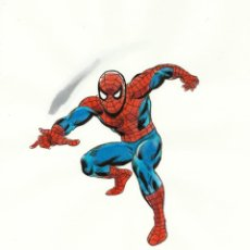 Comics : DIBUJO ORIGINAL ACUARELAS RAFAEL LÓPEZ ESPÍ. SPIDERMAN, SPIDER-MAN. Lote 245285305