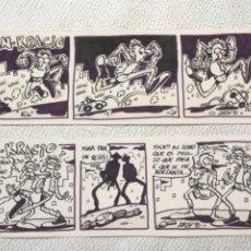 Cómics: DIBUJOS ORIGINALES DE JORDY'90 PAN-KRACIO. Lote 245781505