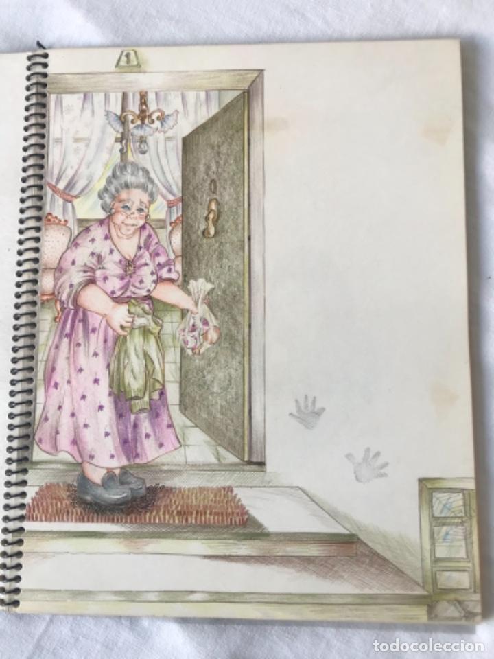 Cómics: 22 DIBUJOS ORIGINALES DE MARIA TERESA RAMOS PARA ILUSTRACIÓN DE LIBRO ANAHÍ 1983. - Foto 6 - 251933885
