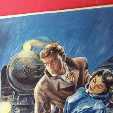 Cómics: PORTADA - GOUACHE - 1950'S - AUTOR DESCONOCIDO. Lote 252296545