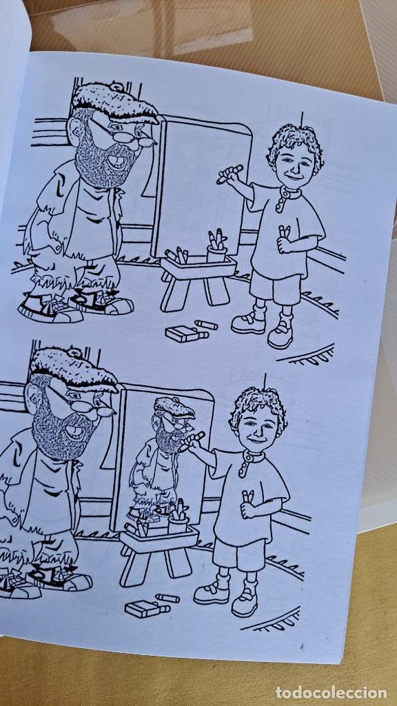 Cómics: LUIS VIERA - DIBUJOS - CARPETA CON DOS LIBROS DE DIBUJOS Y PERIÓDICOS (VER FOTOS) - Foto 4 - 253545195