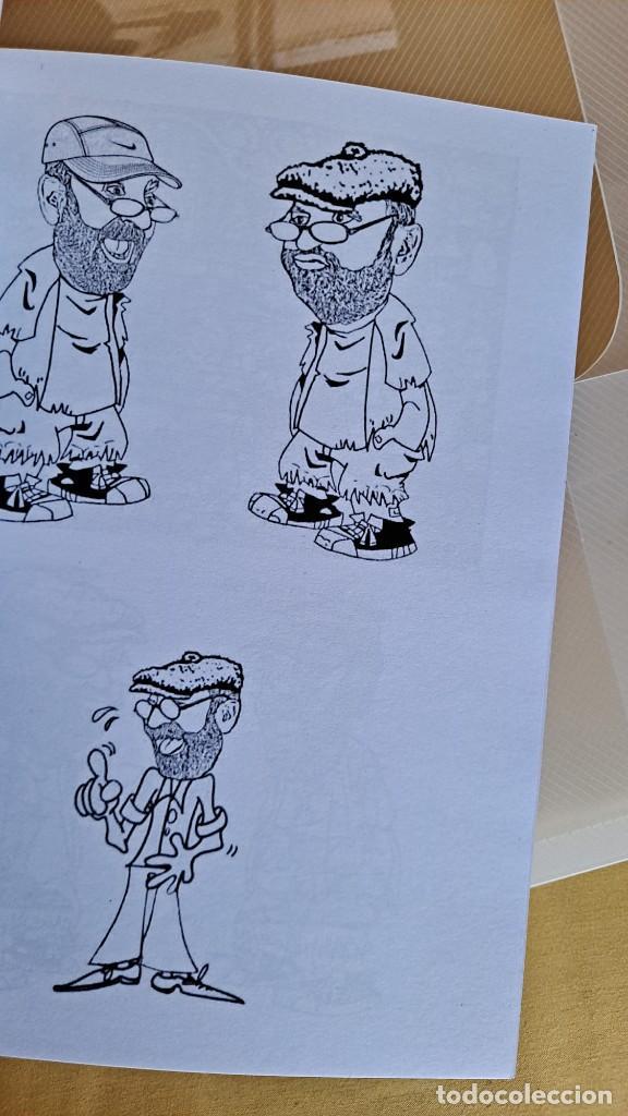 Cómics: LUIS VIERA - DIBUJOS - CARPETA CON DOS LIBROS DE DIBUJOS Y PERIÓDICOS (VER FOTOS) - Foto 5 - 253545195