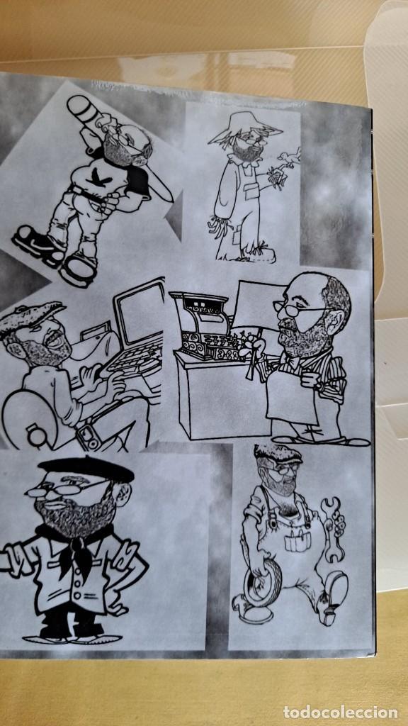 Cómics: LUIS VIERA - DIBUJOS - CARPETA CON DOS LIBROS DE DIBUJOS Y PERIÓDICOS (VER FOTOS) - Foto 6 - 253545195