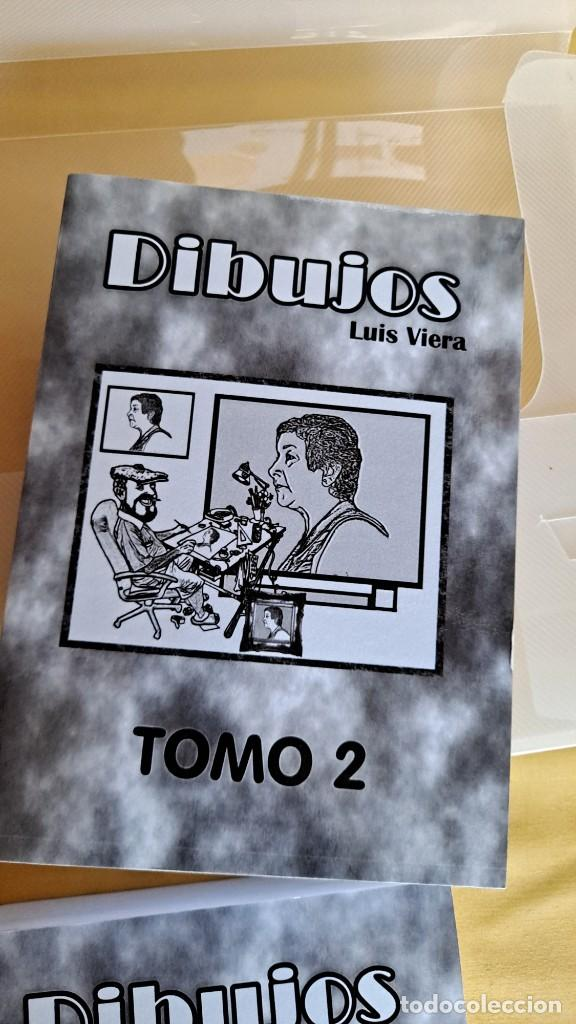 Cómics: LUIS VIERA - DIBUJOS - CARPETA CON DOS LIBROS DE DIBUJOS Y PERIÓDICOS (VER FOTOS) - Foto 7 - 253545195
