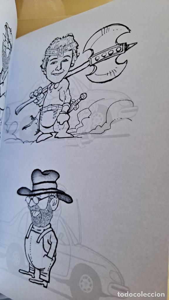 Cómics: LUIS VIERA - DIBUJOS - CARPETA CON DOS LIBROS DE DIBUJOS Y PERIÓDICOS (VER FOTOS) - Foto 9 - 253545195