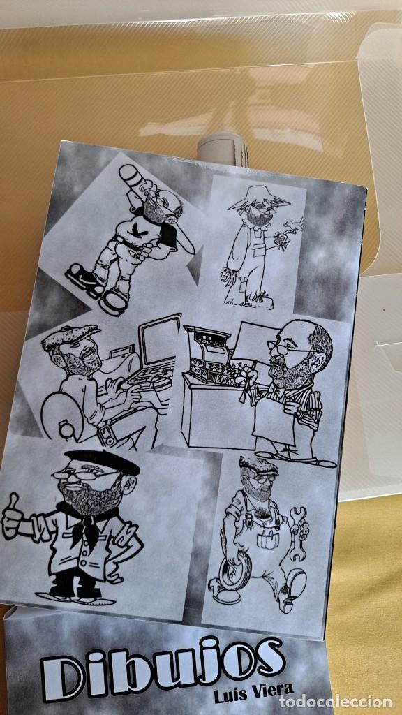 Cómics: LUIS VIERA - DIBUJOS - CARPETA CON DOS LIBROS DE DIBUJOS Y PERIÓDICOS (VER FOTOS) - Foto 10 - 253545195