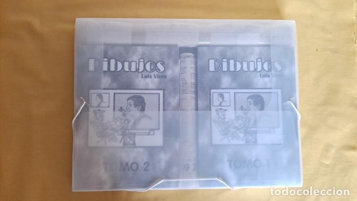 Cómics: LUIS VIERA - DIBUJOS - CARPETA CON DOS LIBROS DE DIBUJOS Y PERIÓDICOS (VER FOTOS) - Foto 13 - 253545195