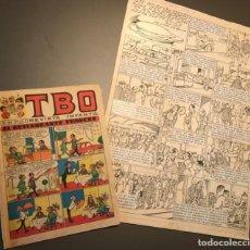 Cómics: BATLLORI JOFRE, DIBUJOS ORIGINALES PARA TBO, FIRMADOS, 45X32. Lote 257715650