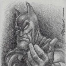 Cómics: JOAN VIZCARRA. DIBUJO ORIGINAL BATMAN. Lote 258176690
