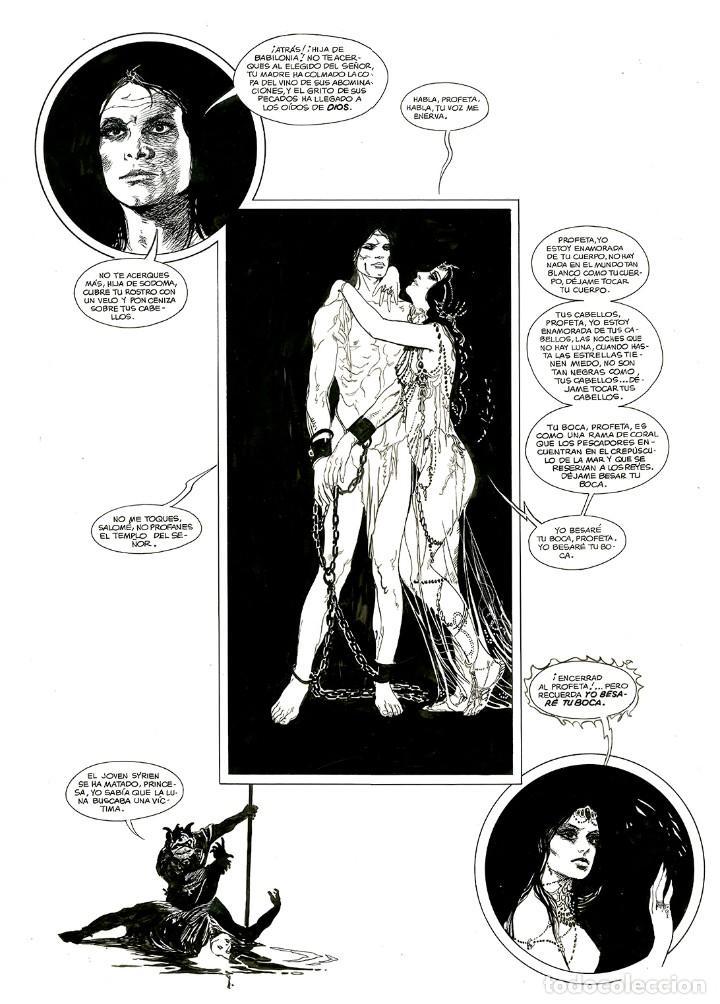 Cómics: Esteban Maroto - Portafolio Salomé 47/100 con Dibujo Original, ECCarteycoleccionismo 2019 - Foto 5 - 260101135