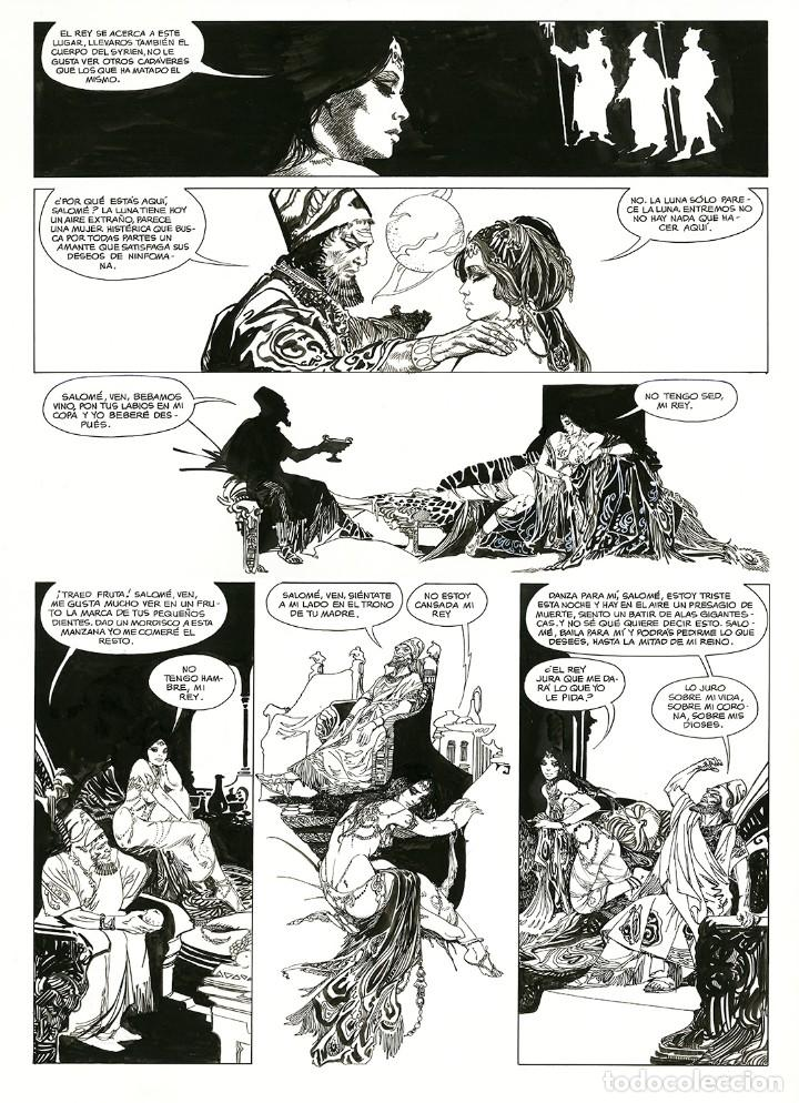 Cómics: Esteban Maroto - Portafolio Salomé 47/100 con Dibujo Original, ECCarteycoleccionismo 2019 - Foto 6 - 260101135