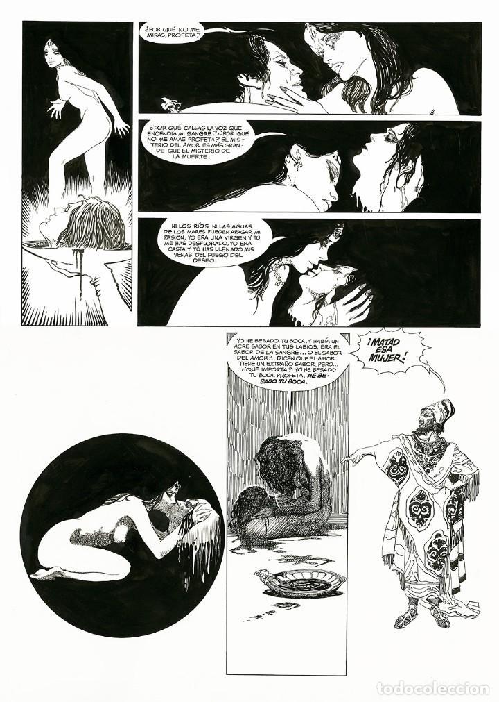 Cómics: Esteban Maroto - Portafolio Salomé 47/100 con Dibujo Original, ECCarteycoleccionismo 2019 - Foto 9 - 260101135
