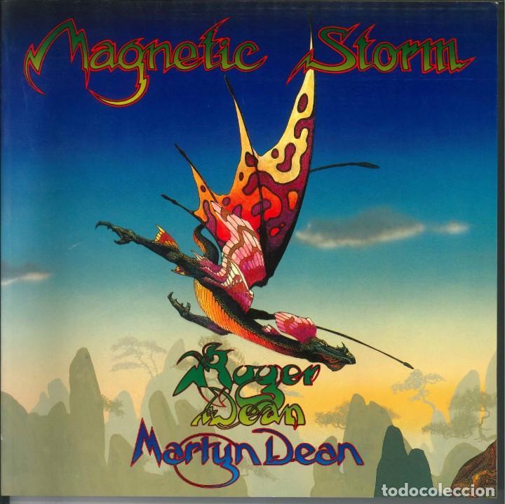 MAGNETIC STORM ROGER DEAN Y MARTYN DEAN (Tebeos y Comics - Art Comic)