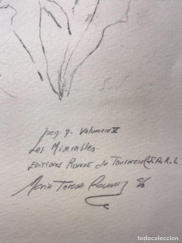 Cómics: MÁS DE 110 DIBUJOS ORIGINALES DE MARIA TERESA RAMOS PARA ILUSTRACIÓN DE LIBROS O CÓMICS. - Foto 9 - 261227700