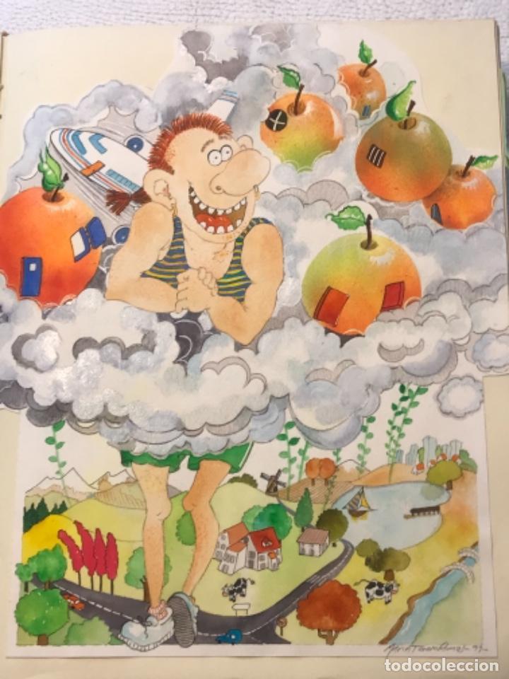 Cómics: MÁS DE 110 DIBUJOS ORIGINALES DE MARIA TERESA RAMOS PARA ILUSTRACIÓN DE LIBROS O CÓMICS. - Foto 13 - 261227700
