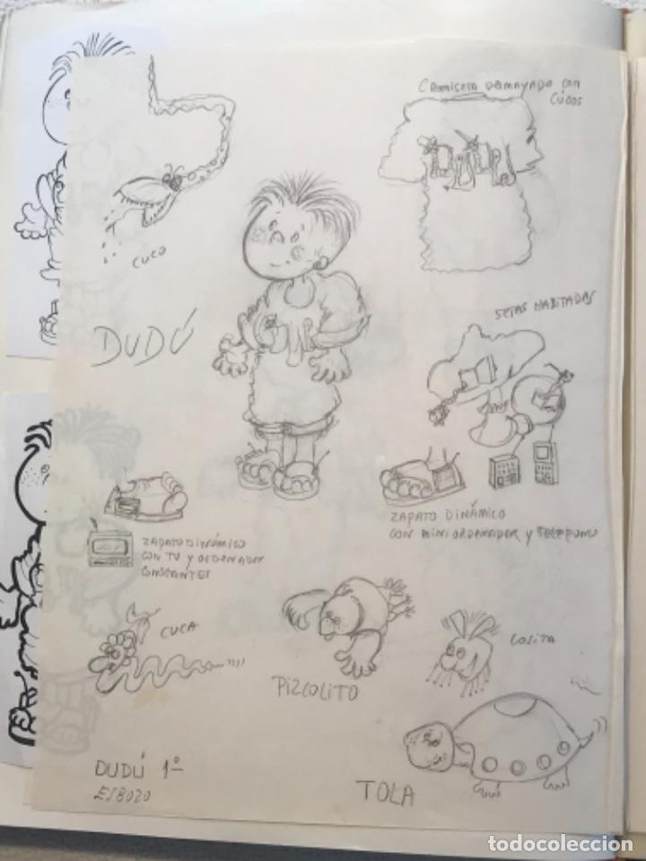 Cómics: MÁS DE 110 DIBUJOS ORIGINALES DE MARIA TERESA RAMOS PARA ILUSTRACIÓN DE LIBROS O CÓMICS. - Foto 41 - 261227700