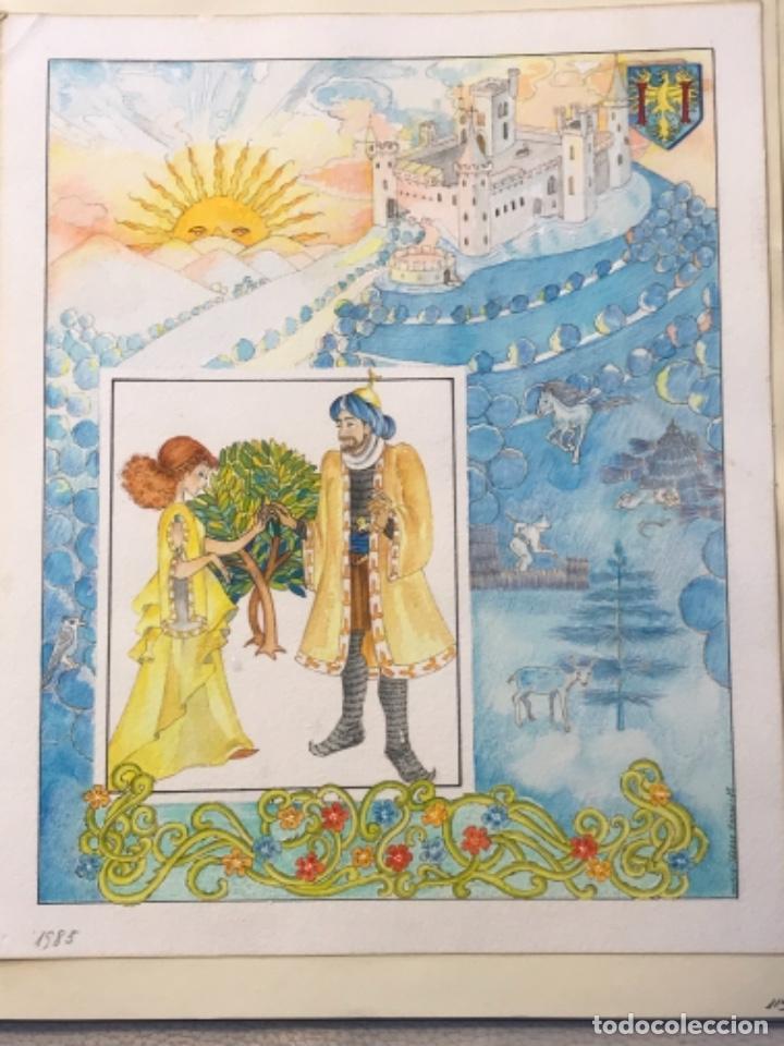 Cómics: MÁS DE 110 DIBUJOS ORIGINALES DE MARIA TERESA RAMOS PARA ILUSTRACIÓN DE LIBROS O CÓMICS. - Foto 44 - 261227700