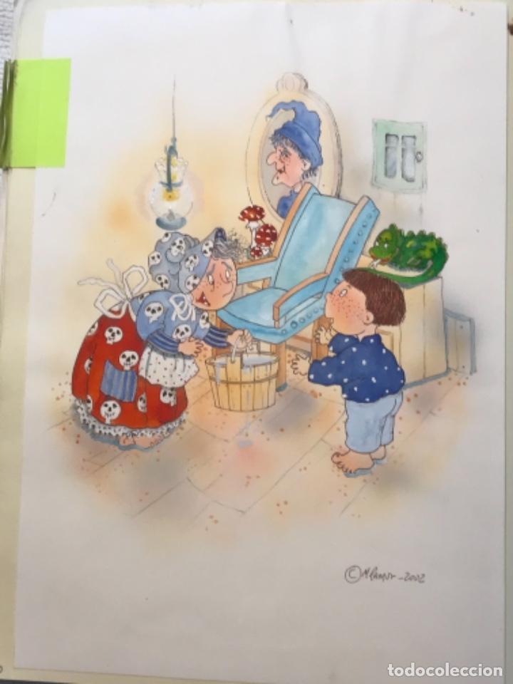Cómics: MÁS DE 110 DIBUJOS ORIGINALES DE MARIA TERESA RAMOS PARA ILUSTRACIÓN DE LIBROS O CÓMICS. - Foto 47 - 261227700