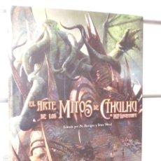 Cómics: EL ARTE DE LOS MITOS DE CTHULHU DE H.P. LOVECRAFT - EDGE ENTERTAINMENT OFERTA. Lote 261961205