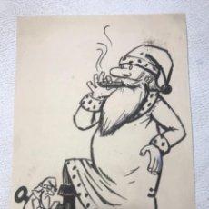 Cómics: DIBUJO A TINTA PARA PUBLICACIÓN. 1950'S. DESCONOCEMOS AUTOR.. Lote 263538175